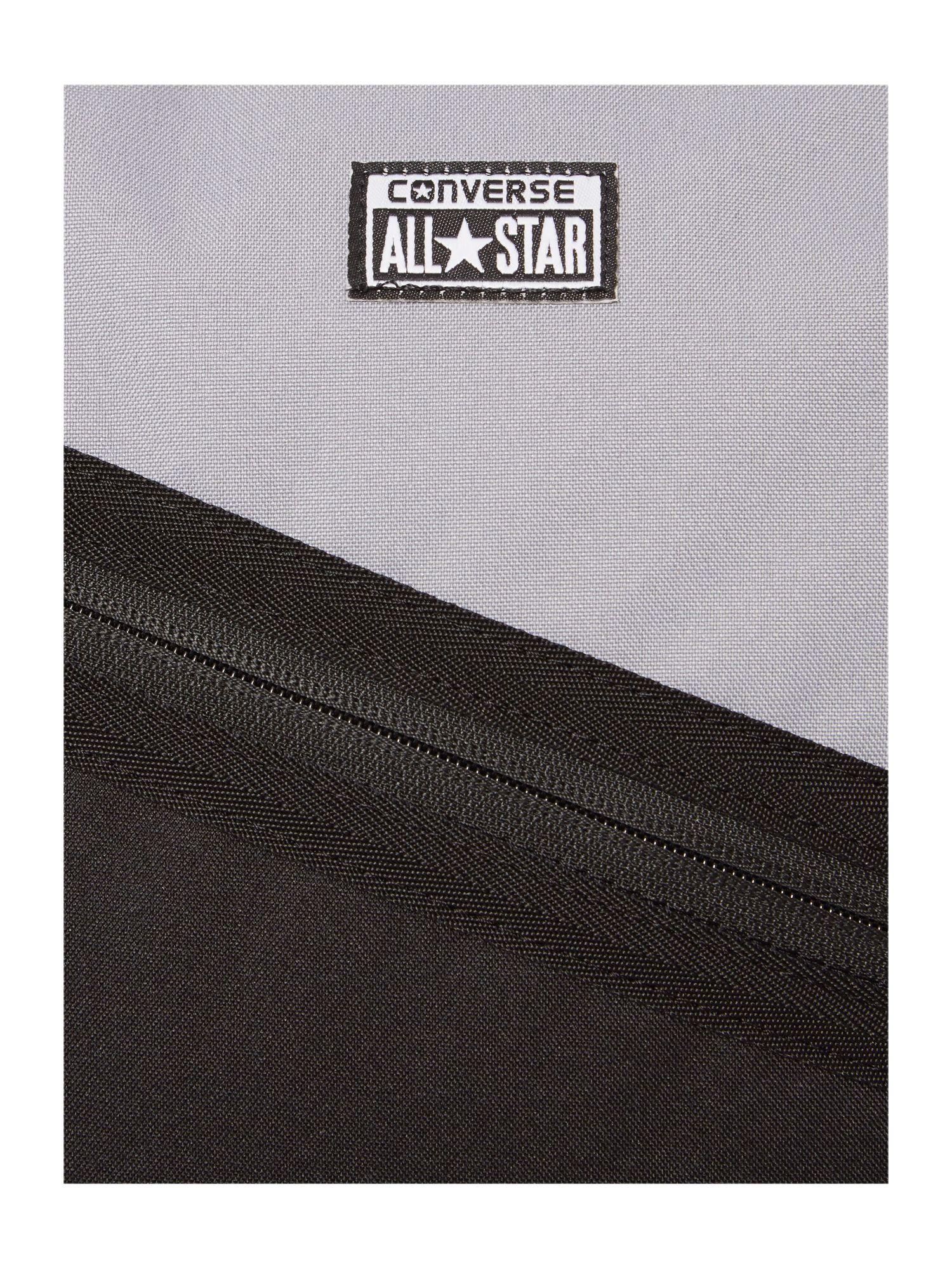 Converse Diagonal Zip Backpack in Black for Men - Lyst cb962a06e7ba5