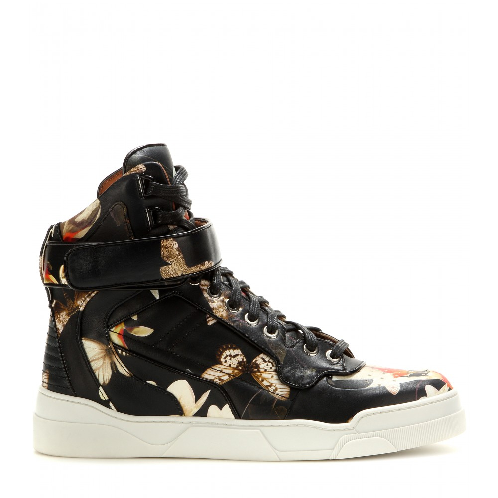 Mens Floral Leather Shoes
