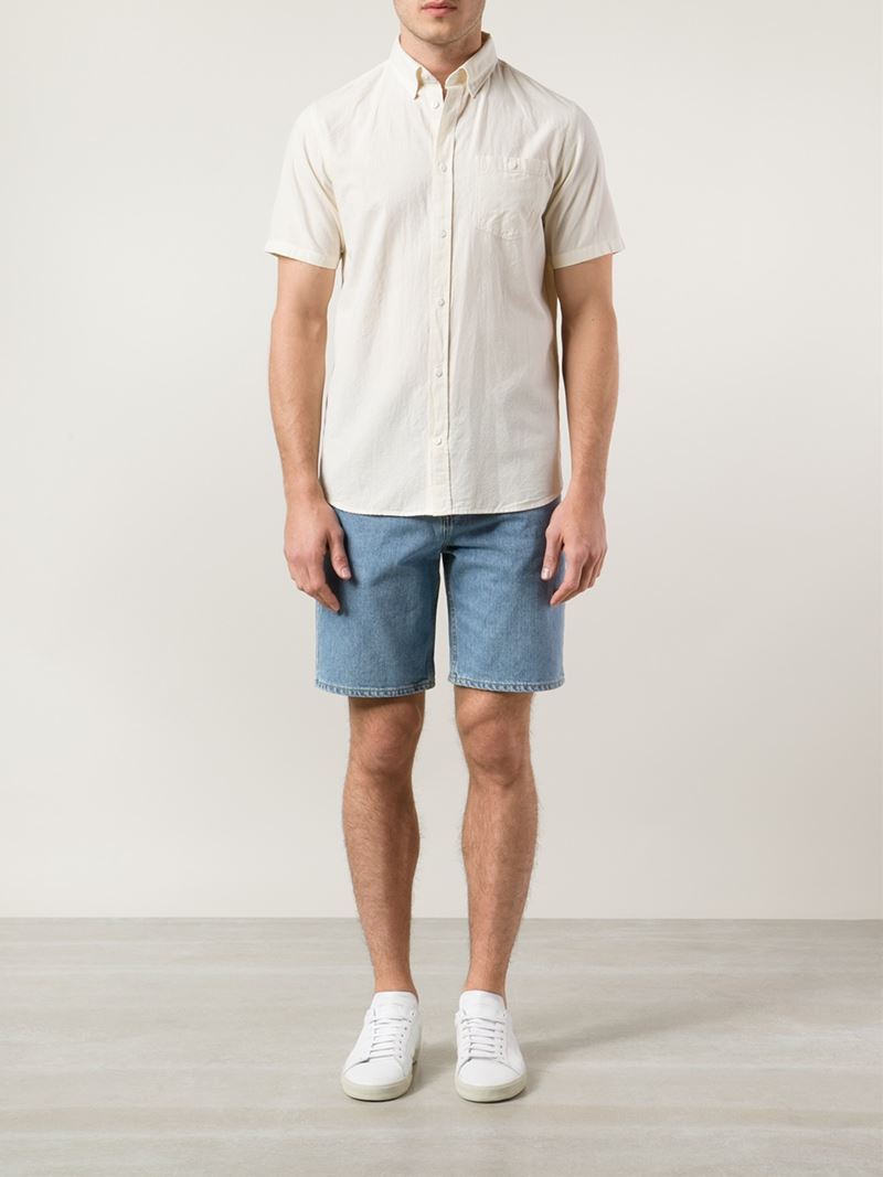 Lyst Norse Projects Short Sleeve Button Down Shirt In