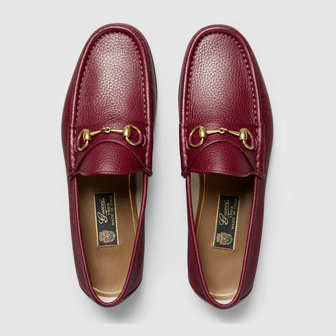 275edb4a71a Lyst - Gucci 1953 Horsebit Leather Loafer in Purple for Men