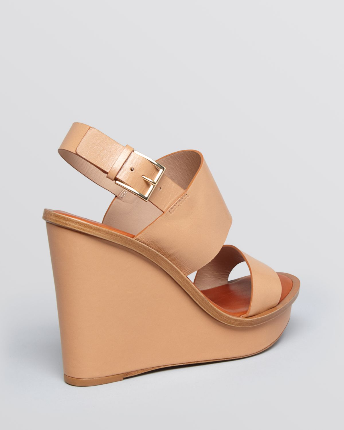 geniue stockist cheap price outlet Manchester Tory Burch Leather Platform Wedges discount genuine latest cheap online extremely tEEmt