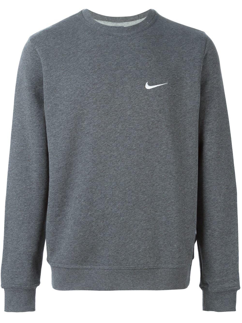 Nike  club Crew  Sweatshirt in Gray for Men - Lyst 87e719863af2