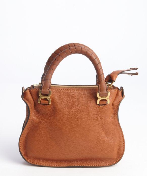 Chlo¨¦ Tan Lambskin Leather Marcie Mini Crossbody Bag in Brown (tan ...