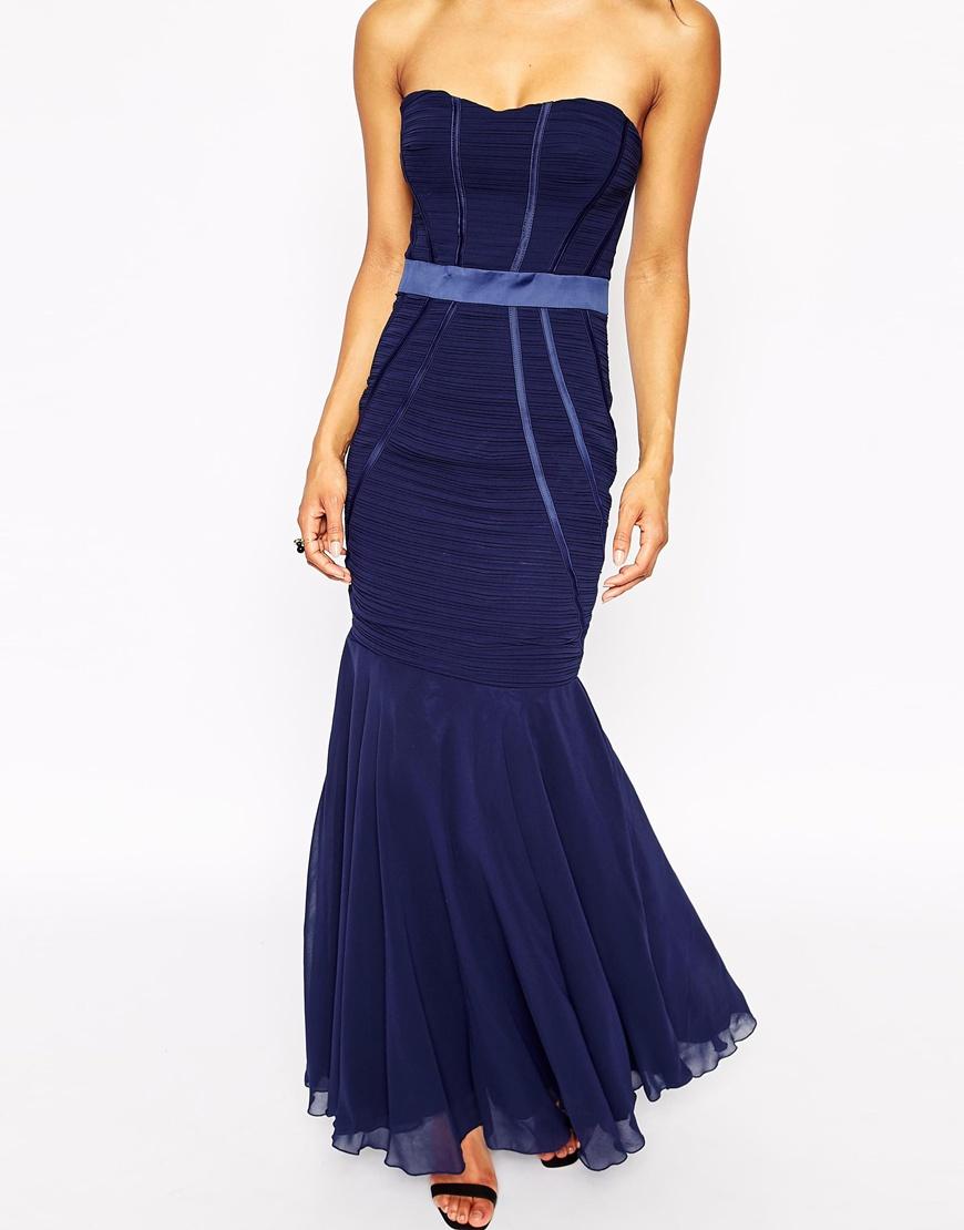 Lipsy maxi dress blue