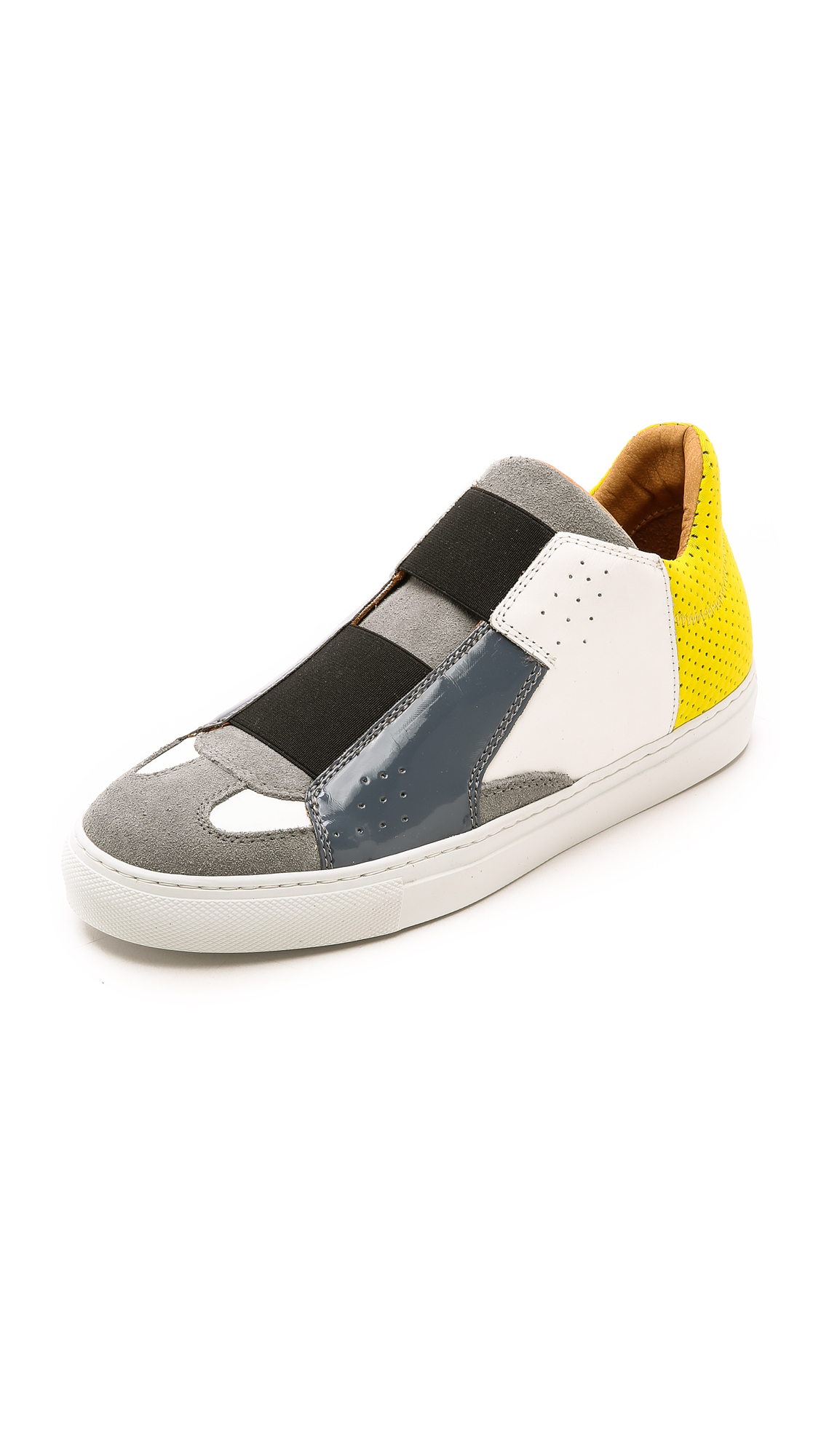 Find Great slip-on sneakers - Black Maison Martin Margiela Recommend For Sale CSUzMpENd2