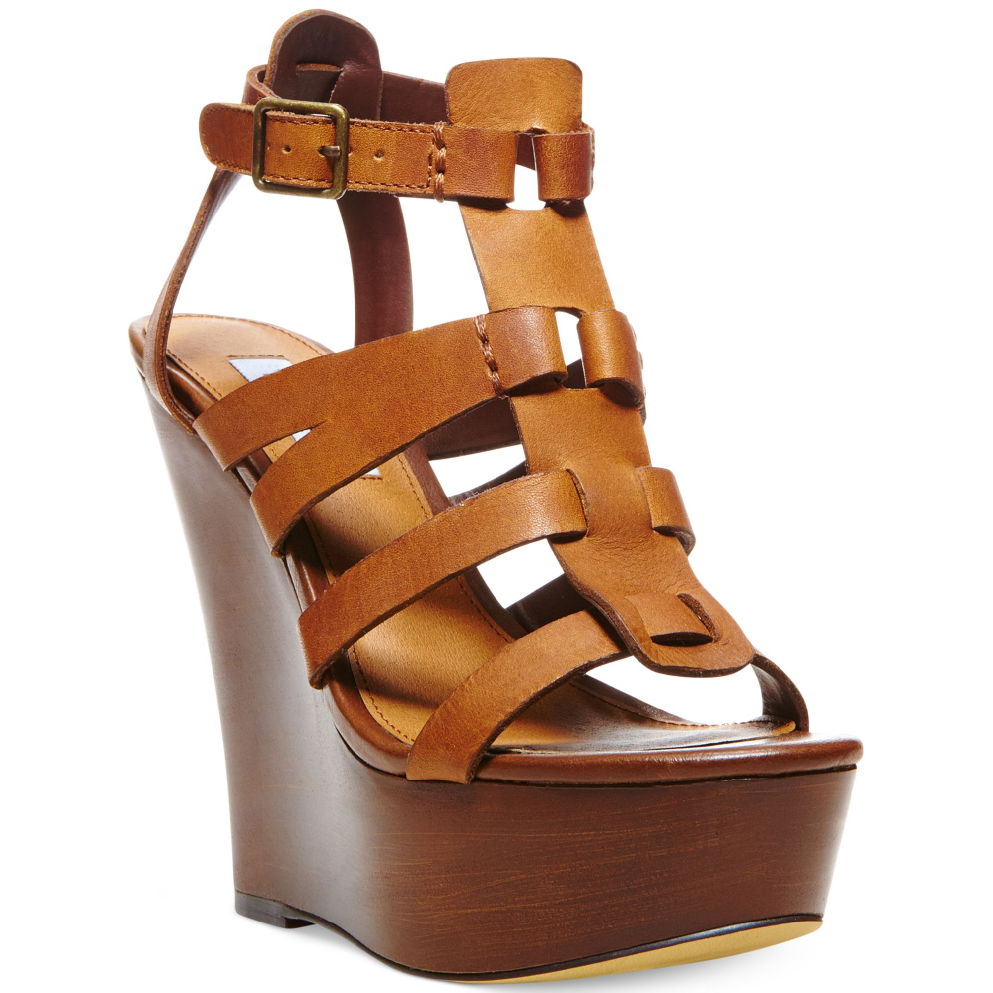 Womens sandals wedges - Brown Leather Wedges Shoes Brown Leather Wedges Shoes Gallery