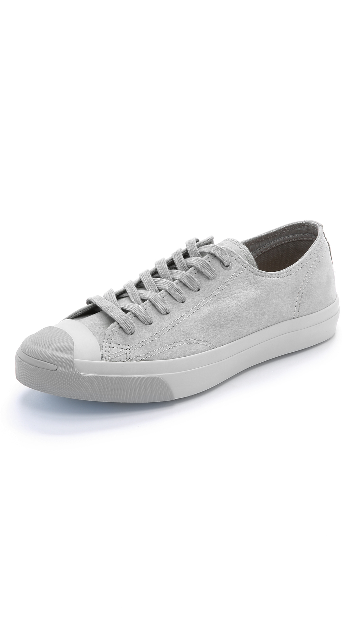 6298c08e9425ba Lyst - Converse Jack Purcell Jack Nubuck Sneakers in Gray for Men