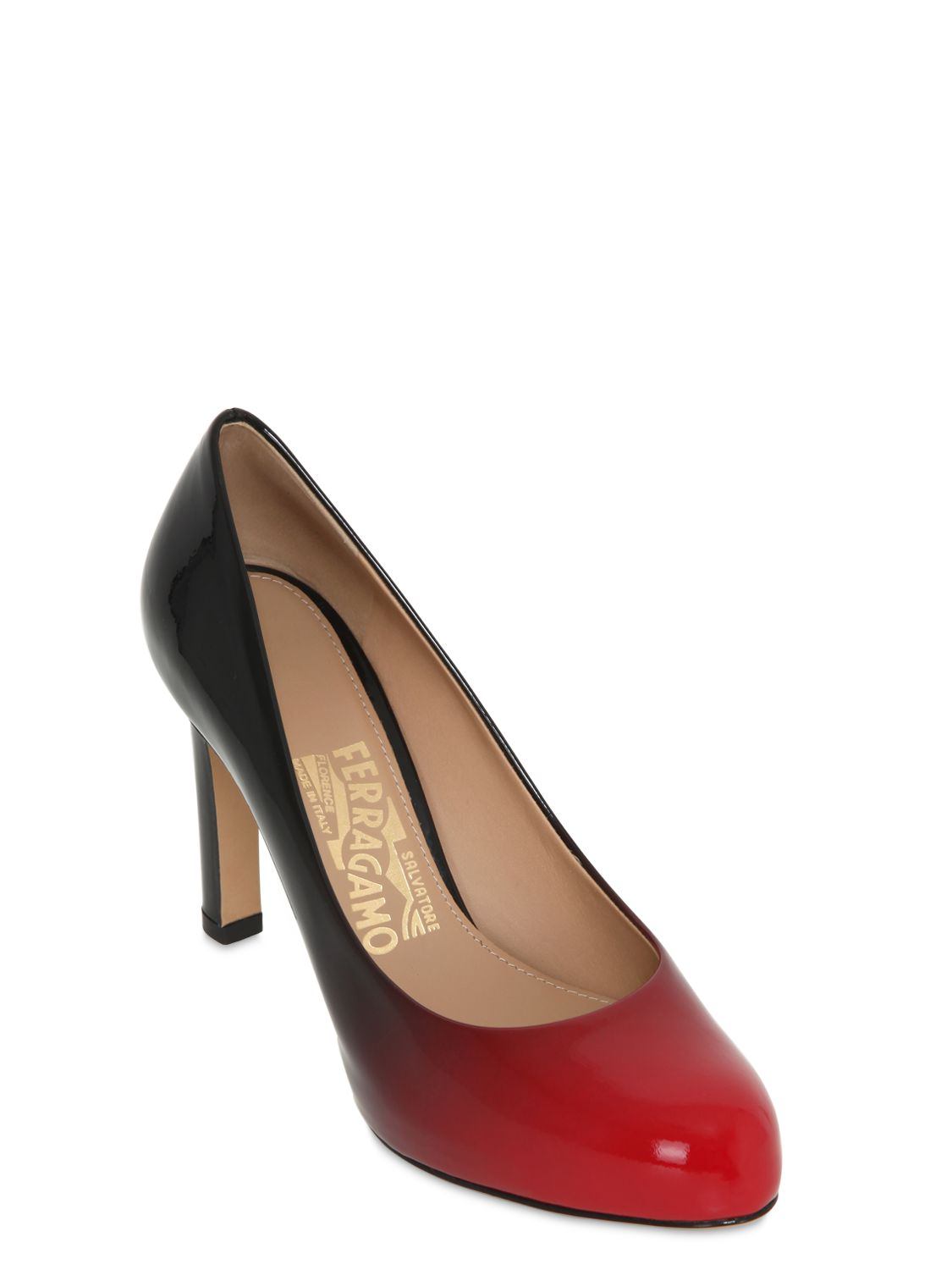 Hobbs Red Patent Leather Shoes
