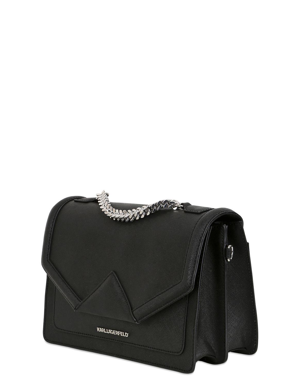 Karl Lagerfeld Rocky Saffiano shoulder bag RqyLGsx