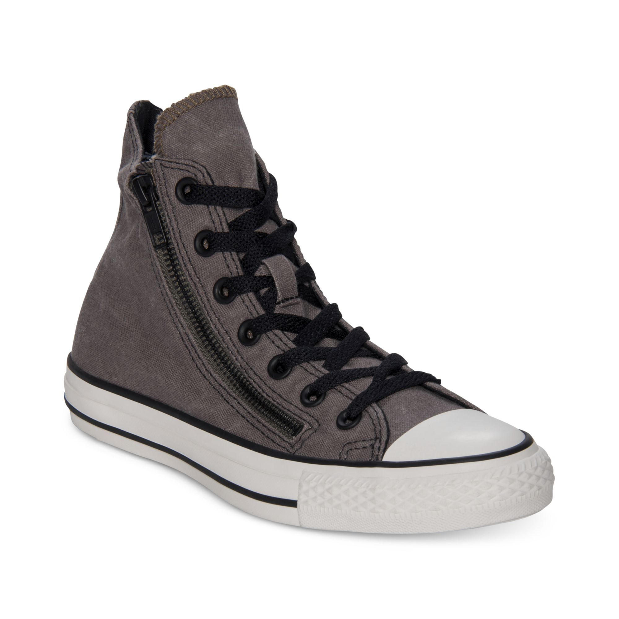CONVERSE ALL STAR DOUBLE ZIP NOIR & VIOLET Wcn0e