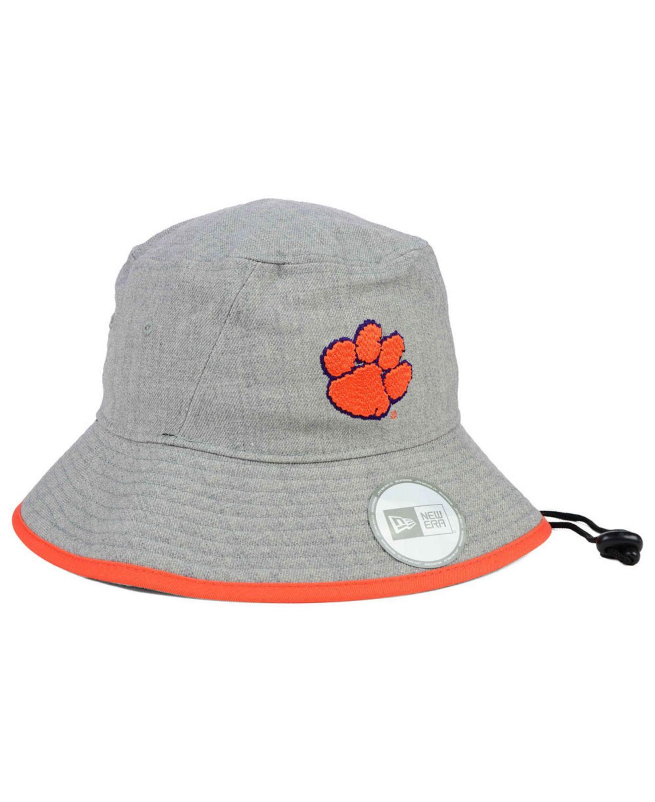c6b5f2bdbd1 ... ireland good lyst ktz clemson tigers tip bucket hat in orange for men  392a2 ef8c1 ee90d