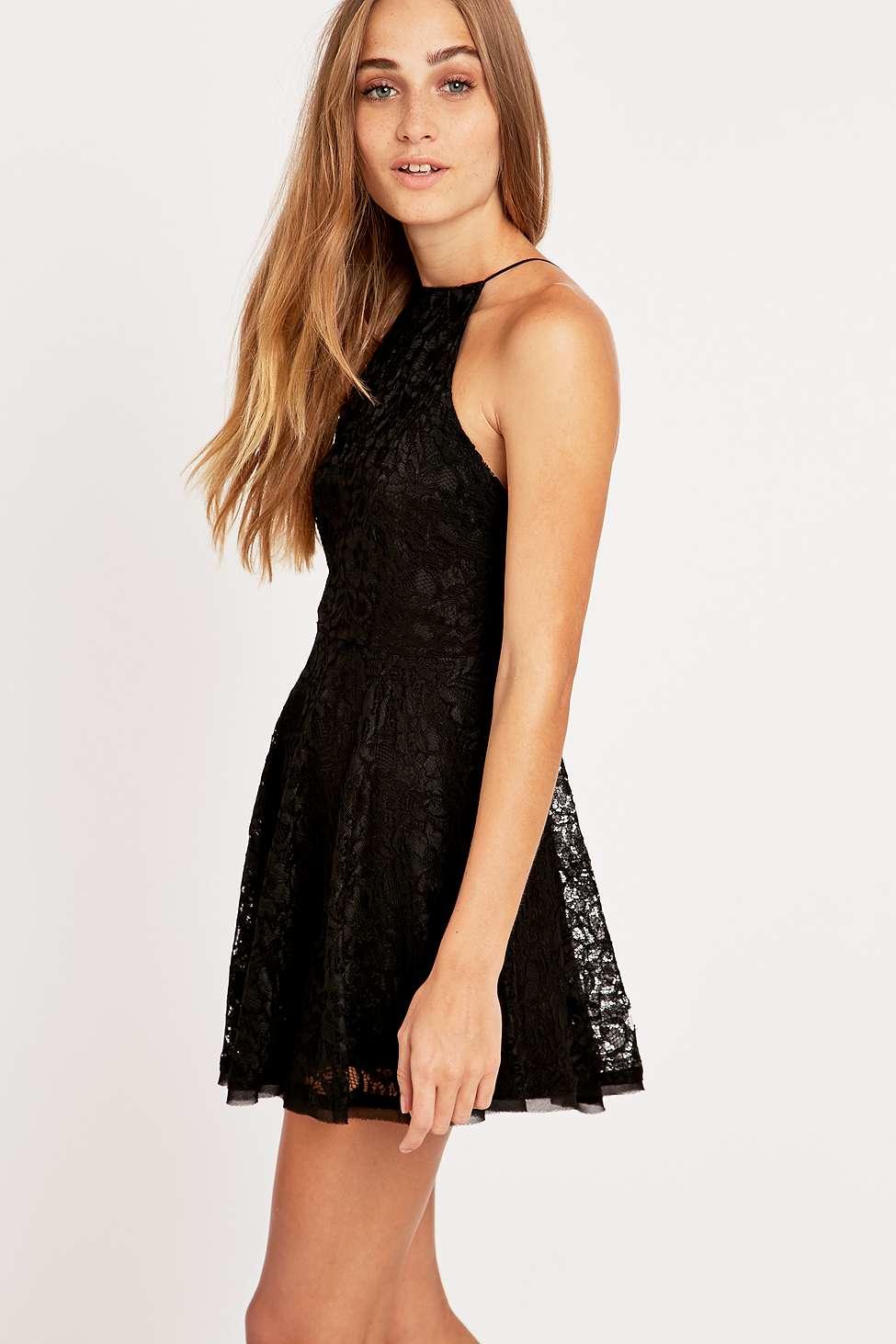Kimchi Blue Loraine Black Lace Dress In Black Lyst