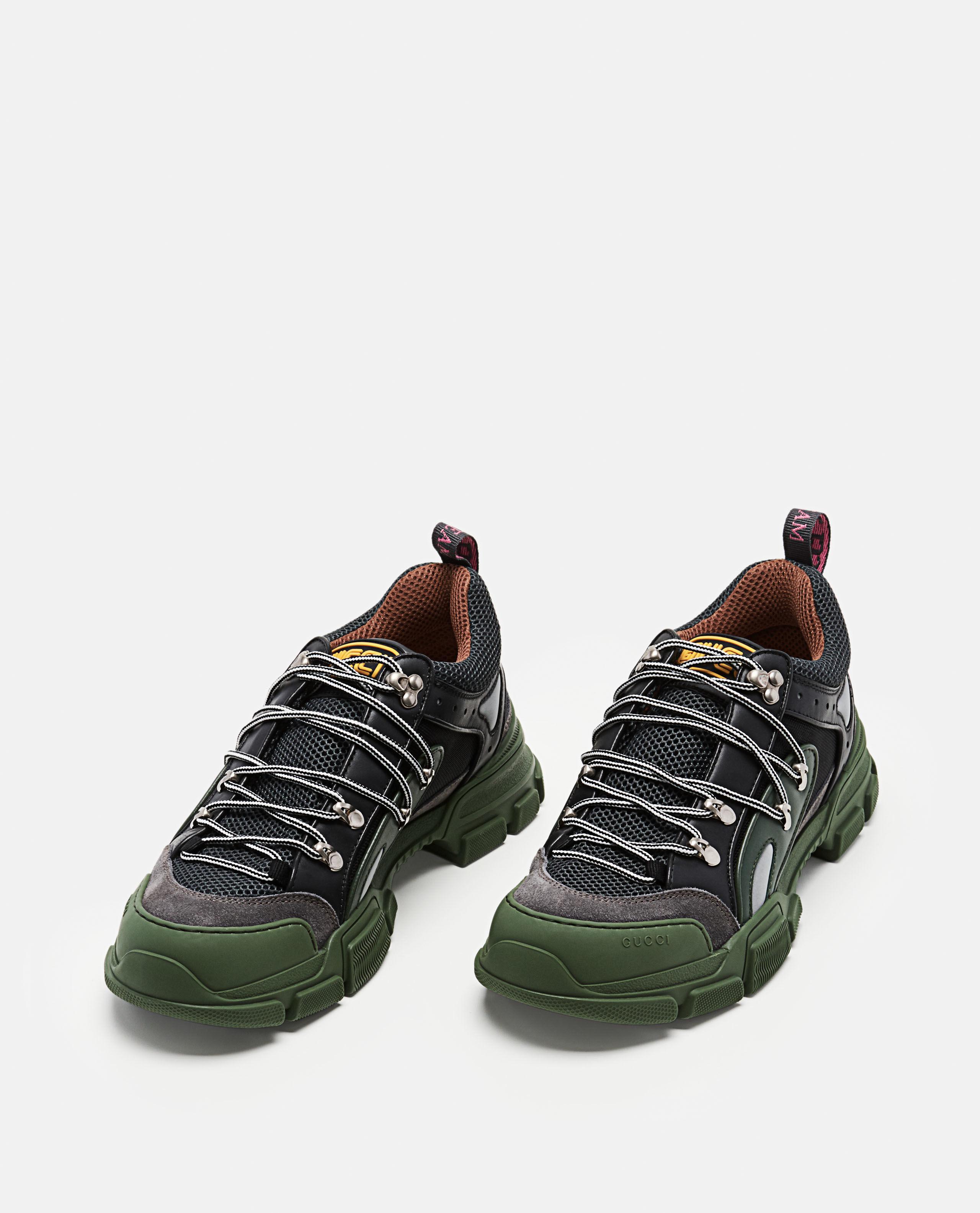 6b684cd89b58 Lyst - Gucci Flashtrek Sneaker in Black for Men