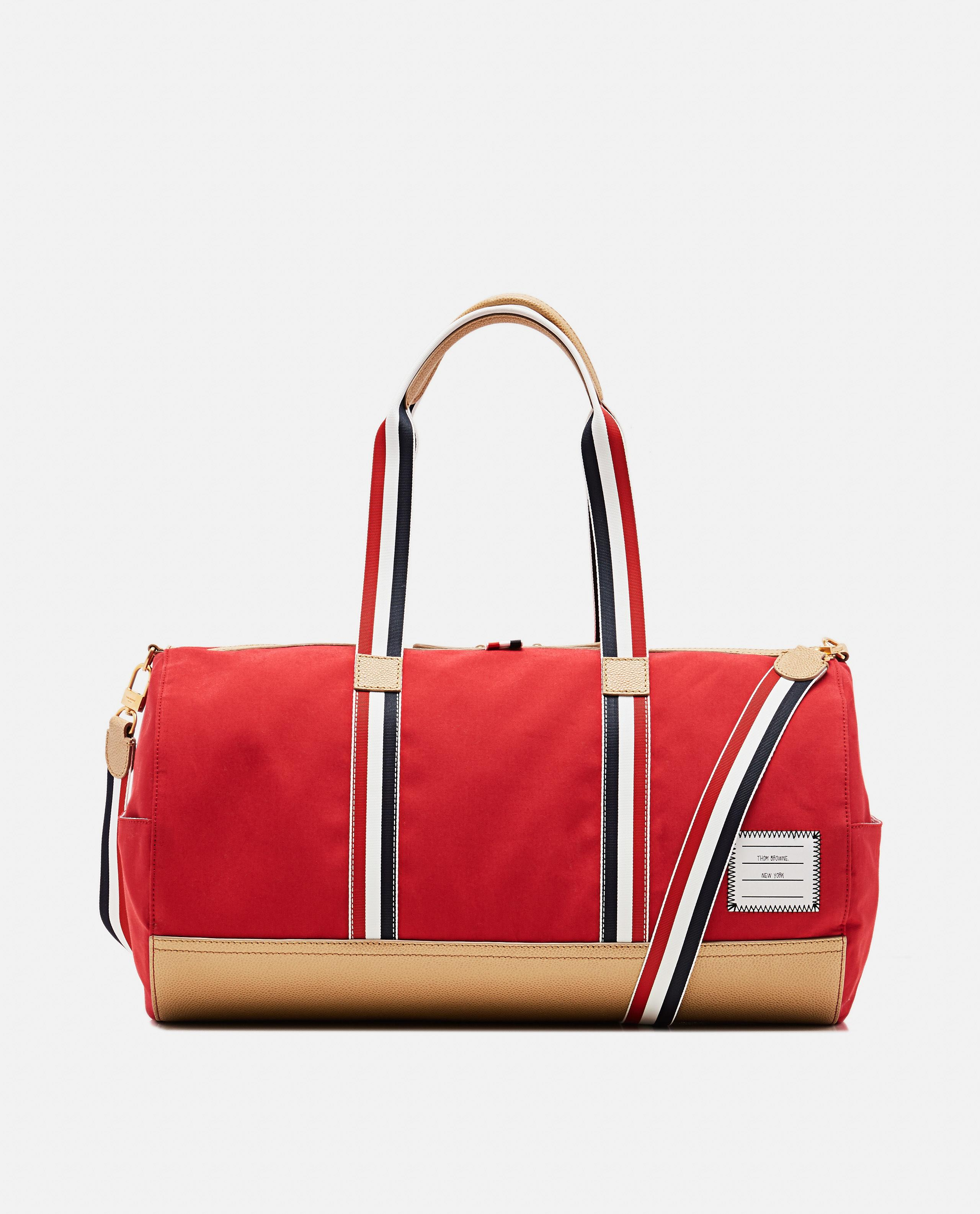 fe6d13966ba Lyst - Thom Browne Red Gym Duffle Bag in Red for Men - Save 1%