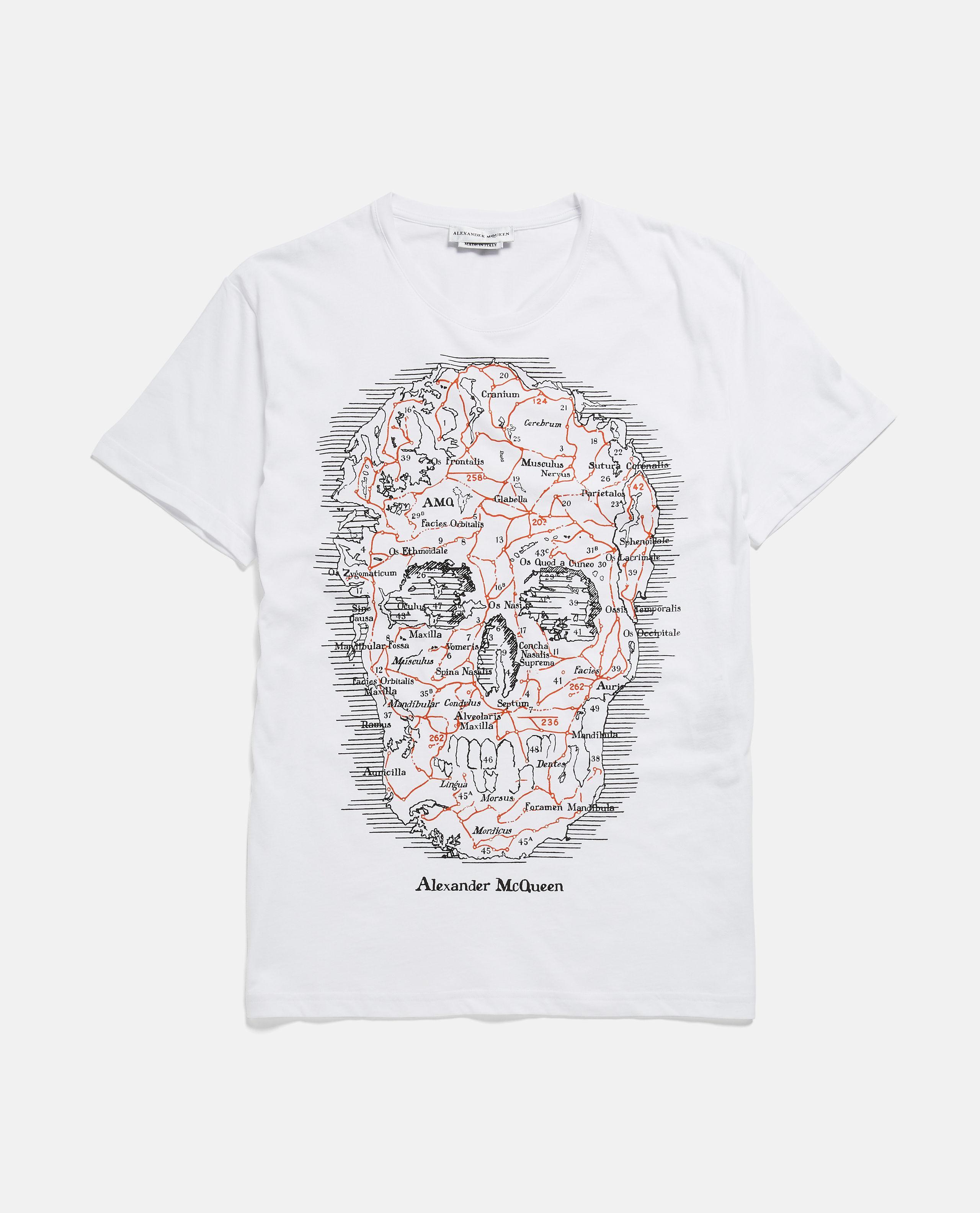 8e63ca05 Lyst - Alexander Mcqueen T-shirt in White for Men