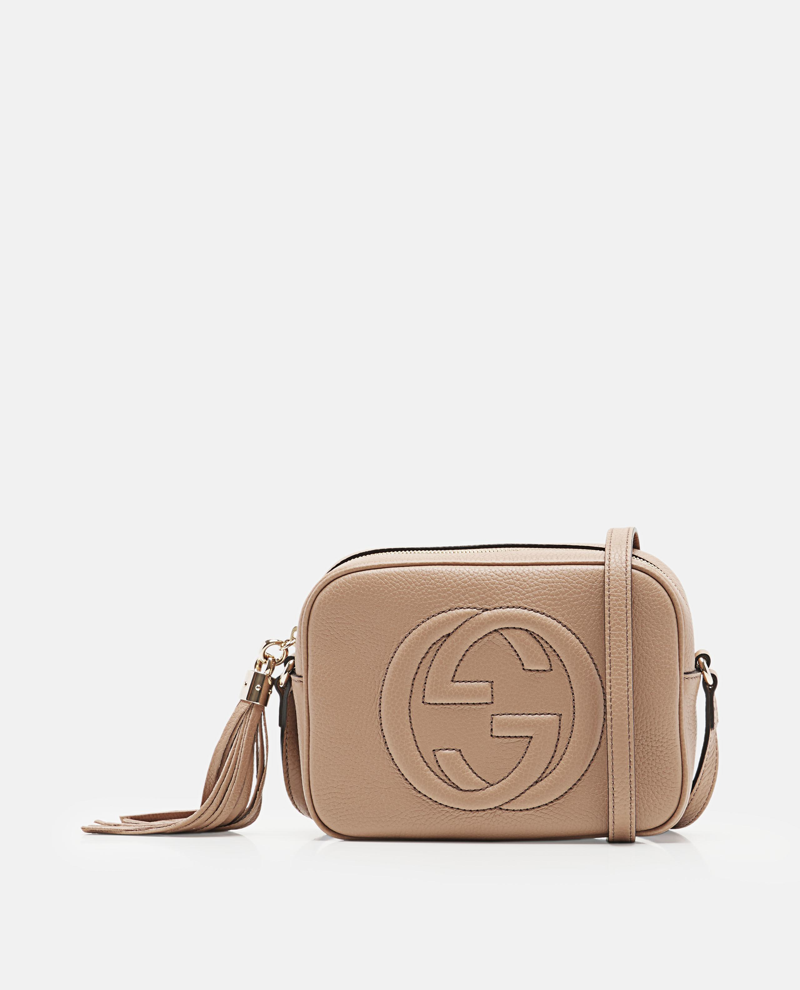 4d0348bac5c Lyst - Gucci Soho Small Leather Disco Bag in Brown