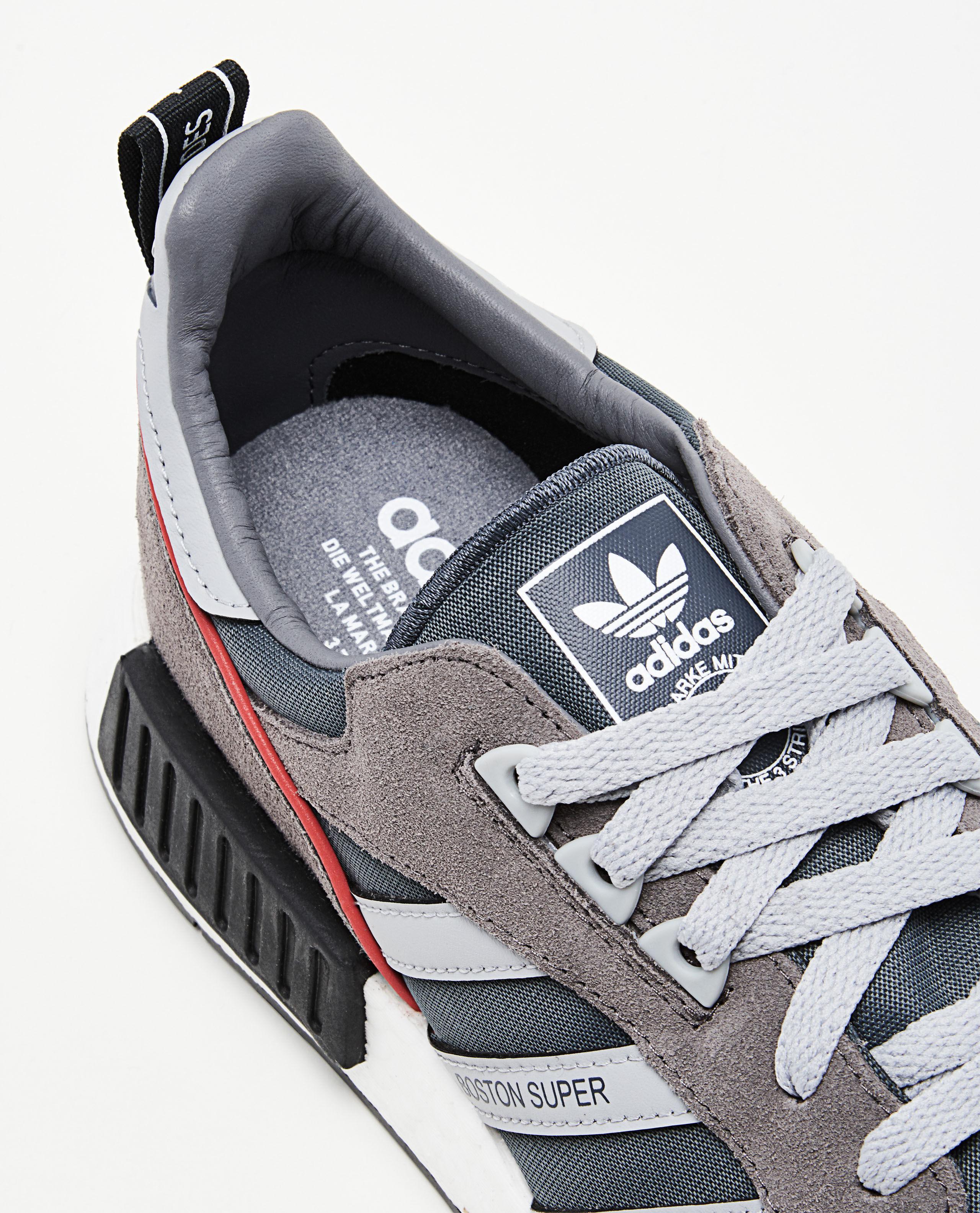 ede125e426ea Lyst - adidas Originals Boston Super X R1 Sneaker in Gray for Men