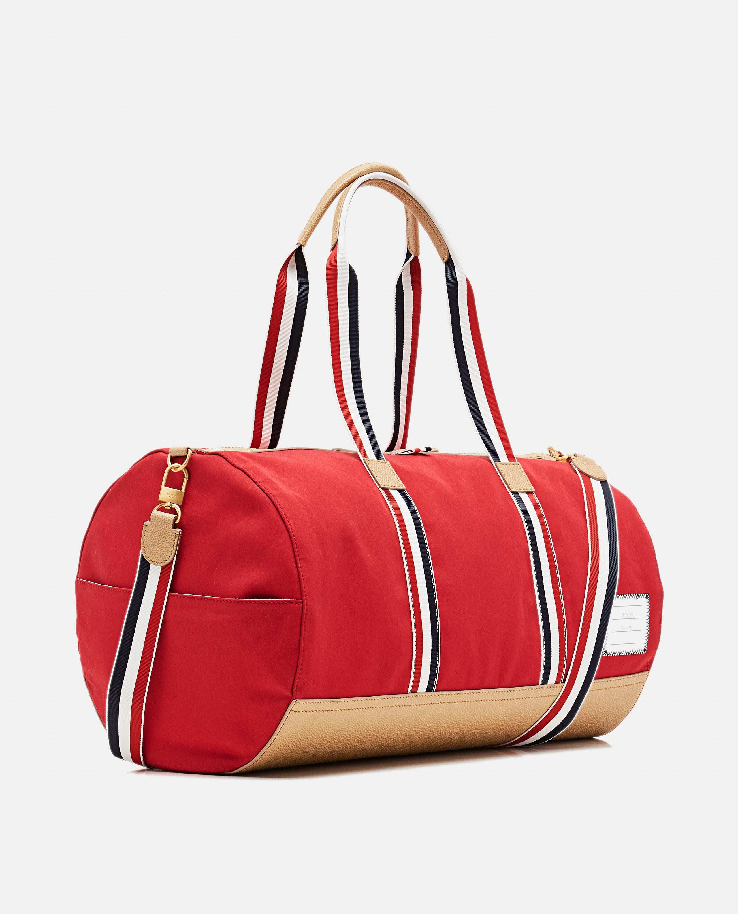 Thom Browne Tricolour Barrel Bag in Red for Men - Save 6% - Lyst 76531c1fce5f0