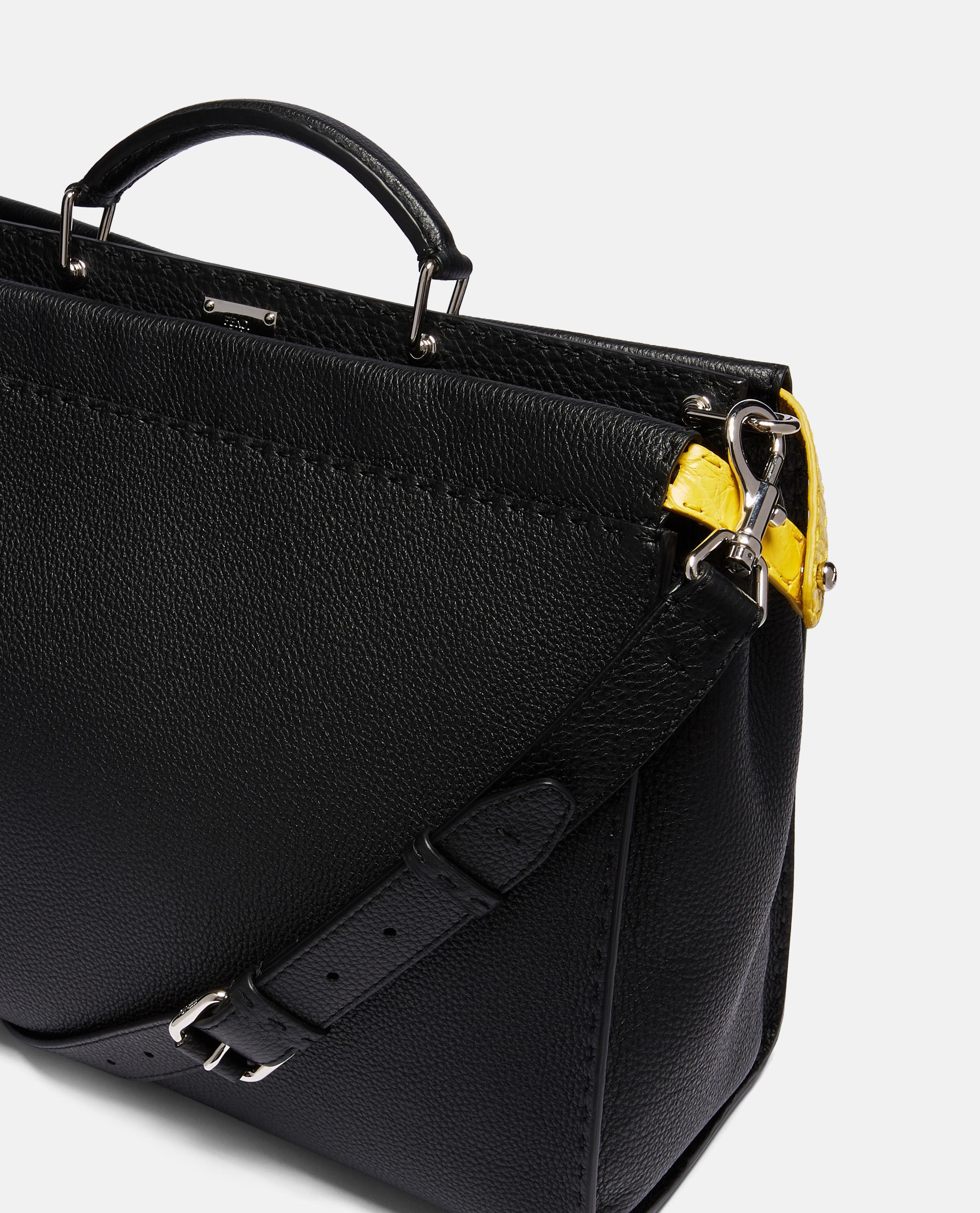 cd22dd81d99d Fendi Regular Peekaboo Bag in Black for Men - Lyst
