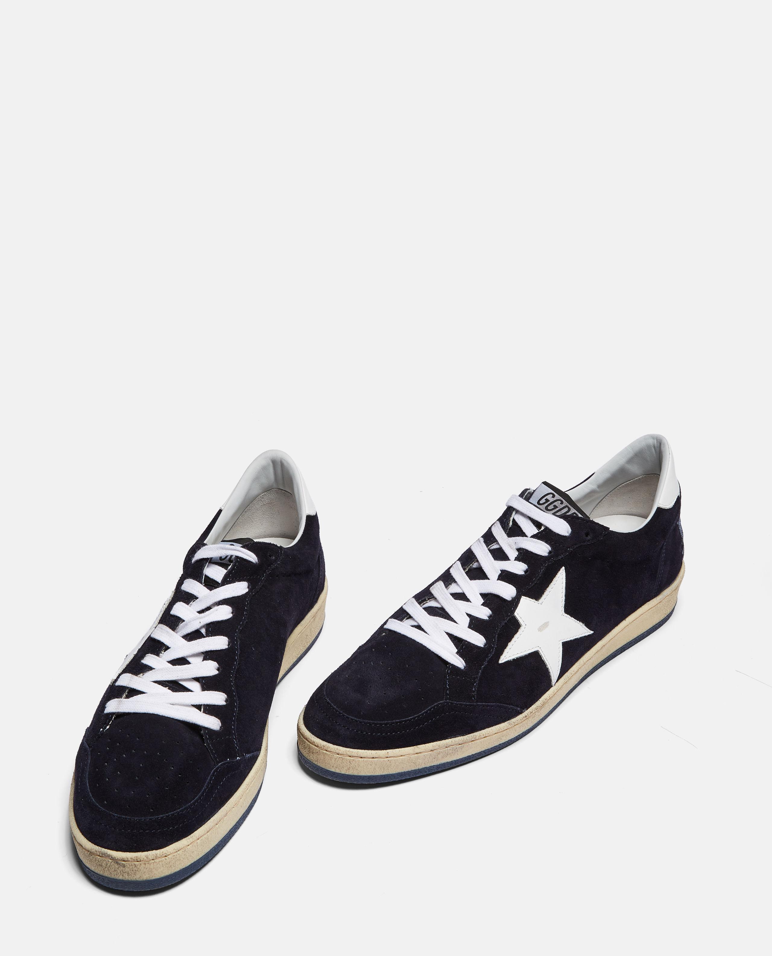 77cbd11d99626 Golden Goose Deluxe Brand Ball Star Sneaker In Suede in Blue for Men - Lyst