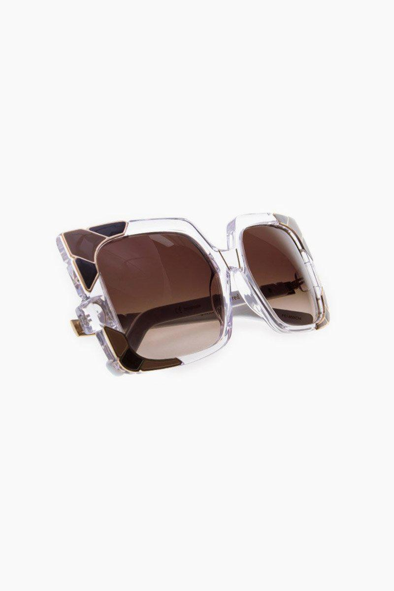 314ee6194a Pared Eyewear Sun   Shade Sunglasses - Clear black brown Lenses in ...