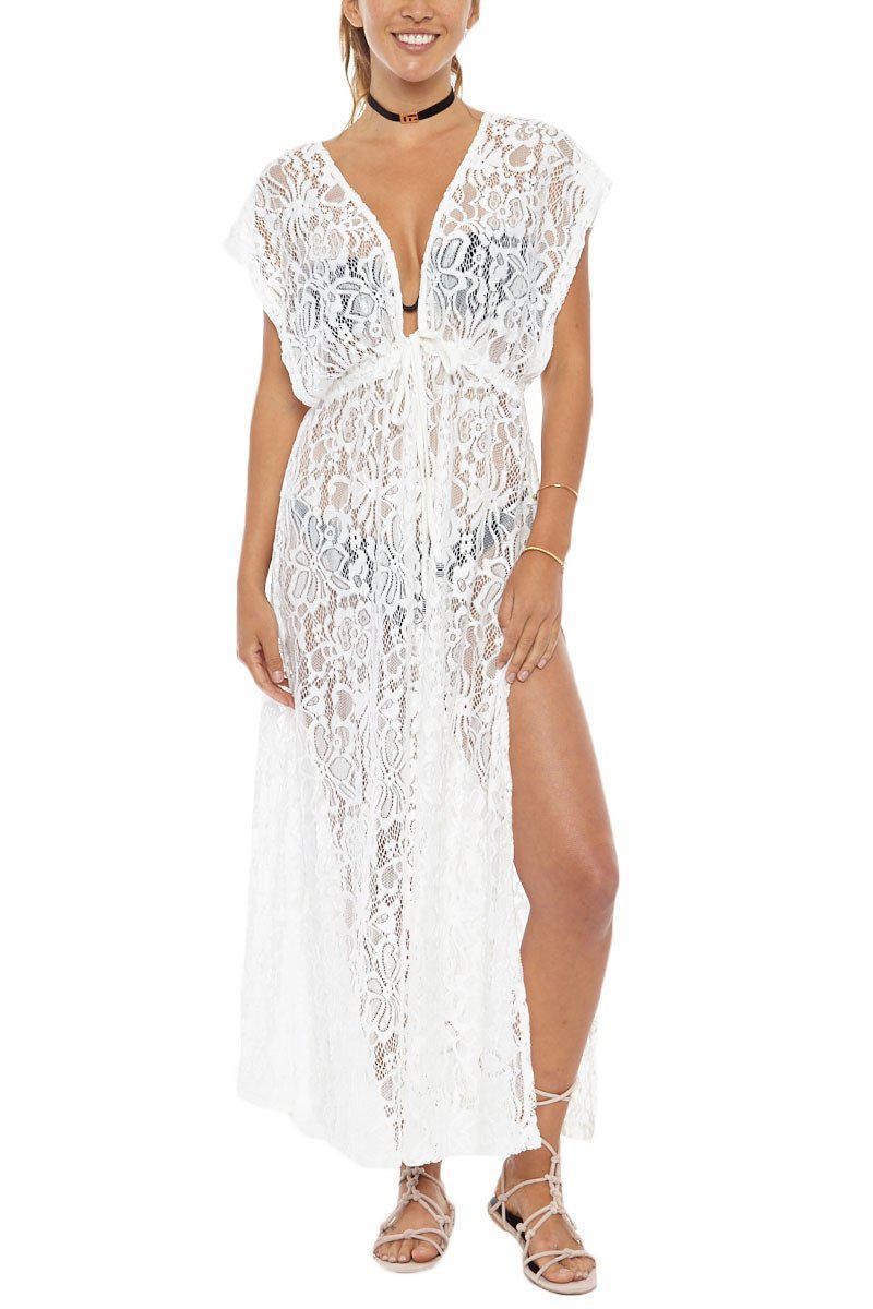 a4139546d0 Pia Rossini Latina Maxi Dress - White in White - Lyst
