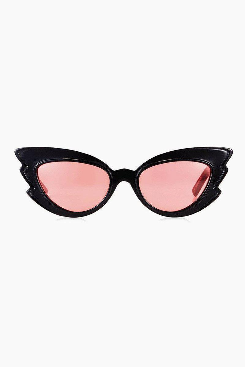 cc5afc0506 Pared Eyewear Stargazers Sunglasses - Black red Lenses in Black - Lyst