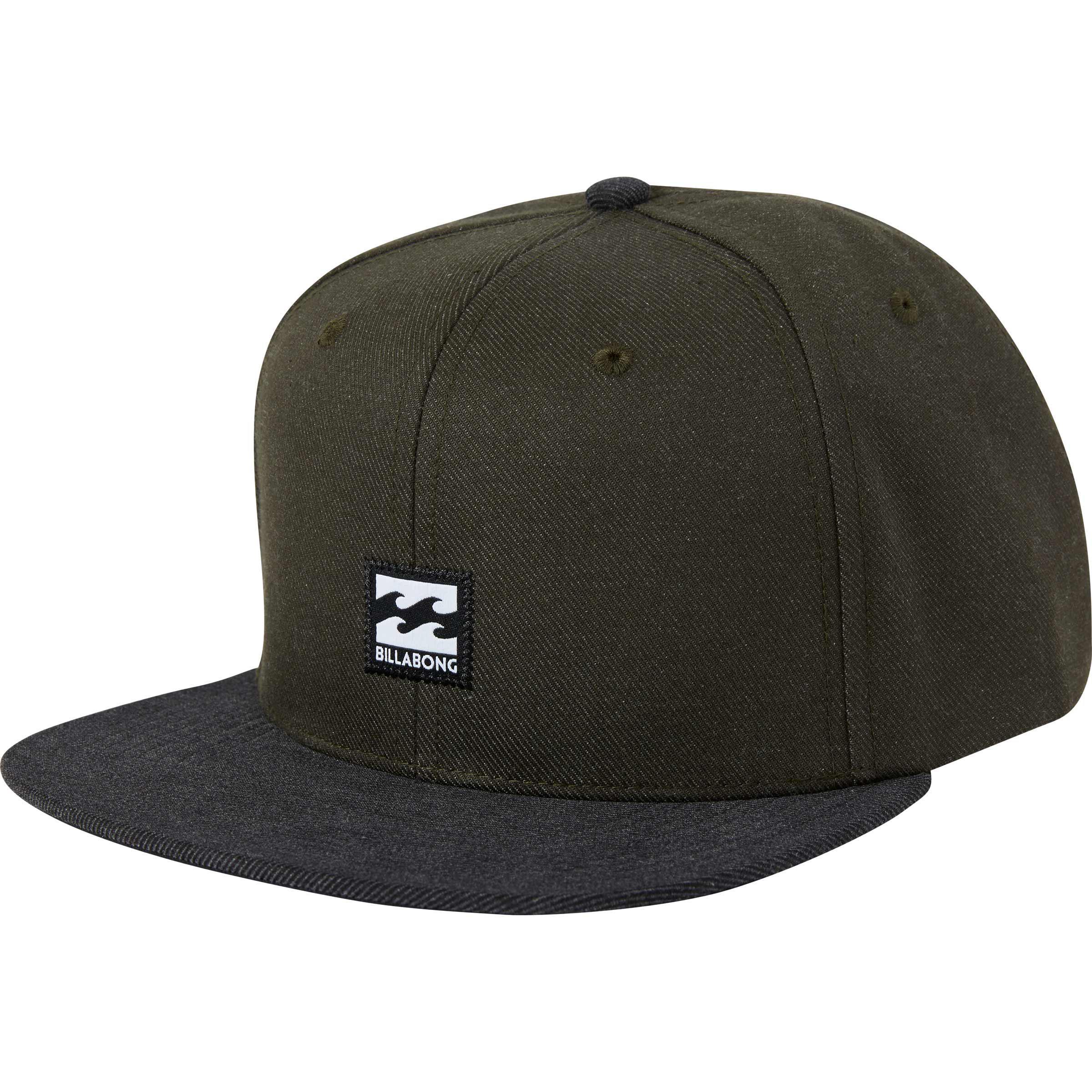 60cb6453db98 Lyst - Billabong Primary Snapback Hat in Green for Men