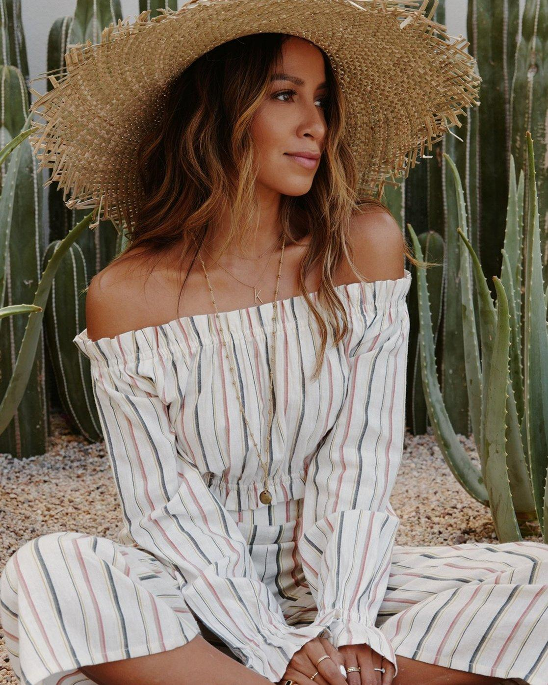a9fad7741b379 Billabong. Women s Sincerely Jules Tulum Weathers Off-the-shoulder Top