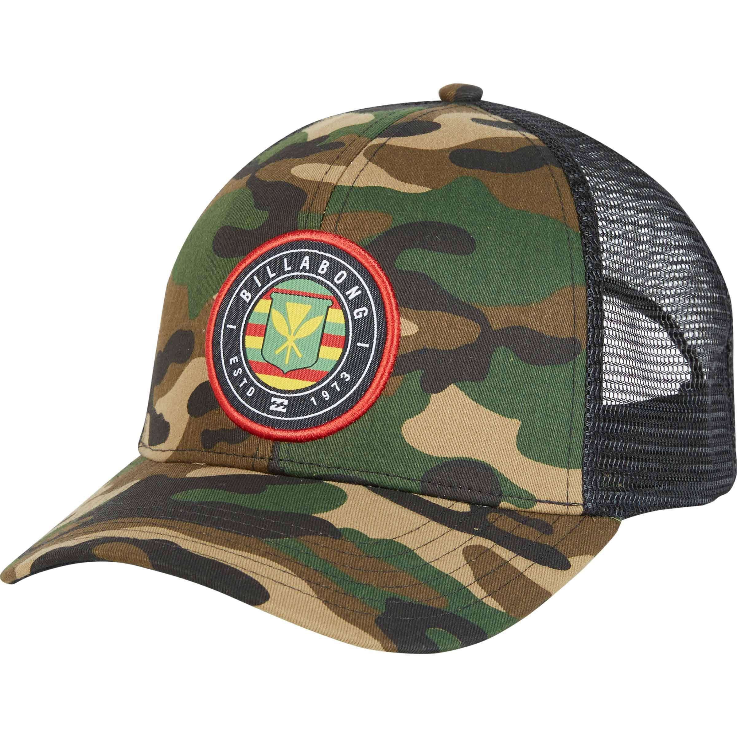 new arrival 4c22a 6da64 ... buy billabong. mens native rotor camo trucker hat fed26 a7ab7