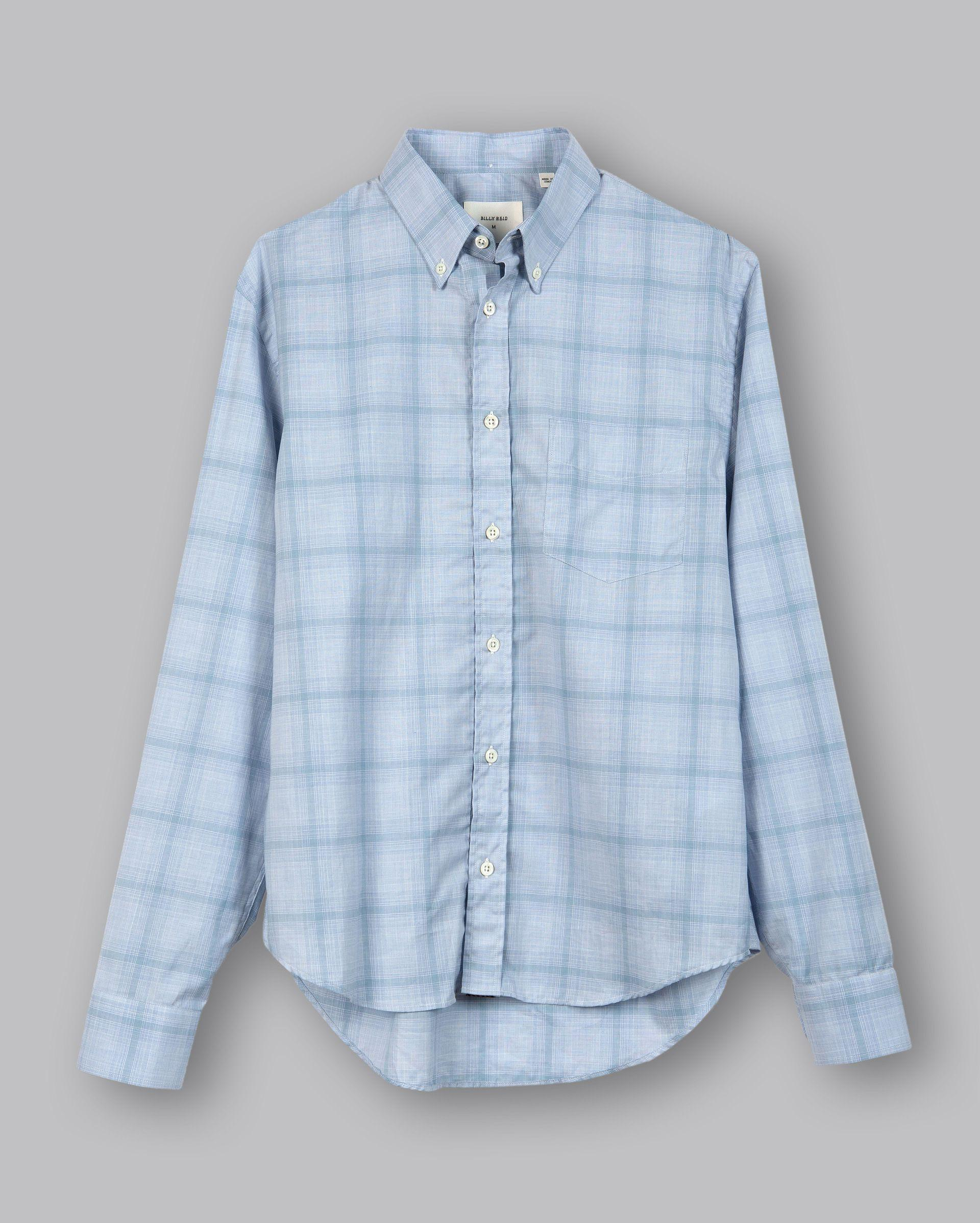 b478c64883 Billy Reid - Blue Kirby Bd Shirt for Men - Lyst. View fullscreen