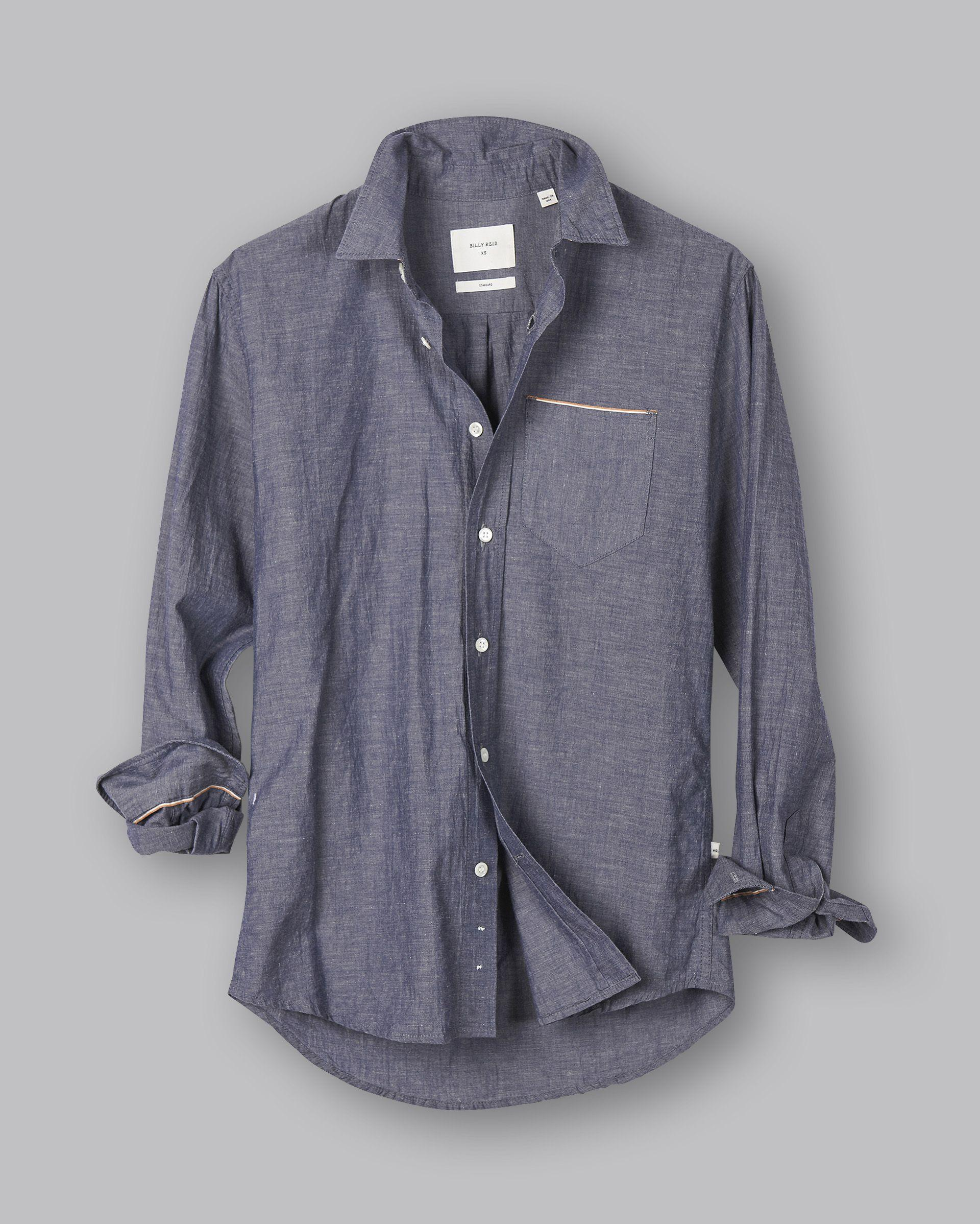 5d8cba6968 Lyst - Billy Reid Msl 1 Pkt Shirt for Men