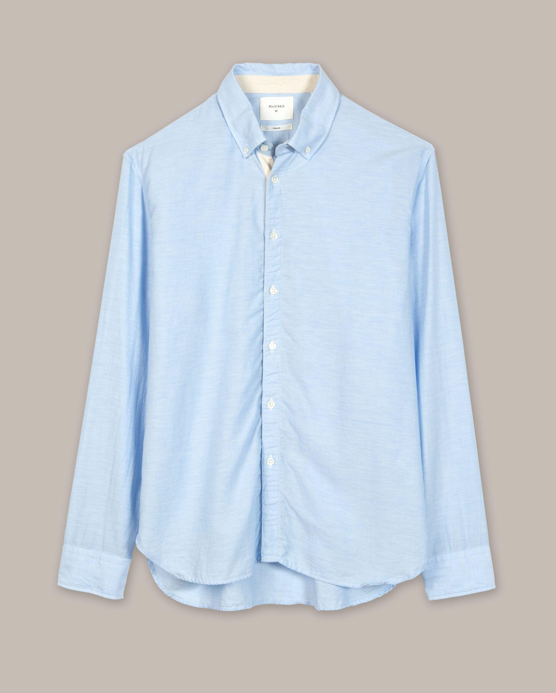 0ca1d381df Billy Reid - Blue Irvine Shirt for Men - Lyst. View fullscreen