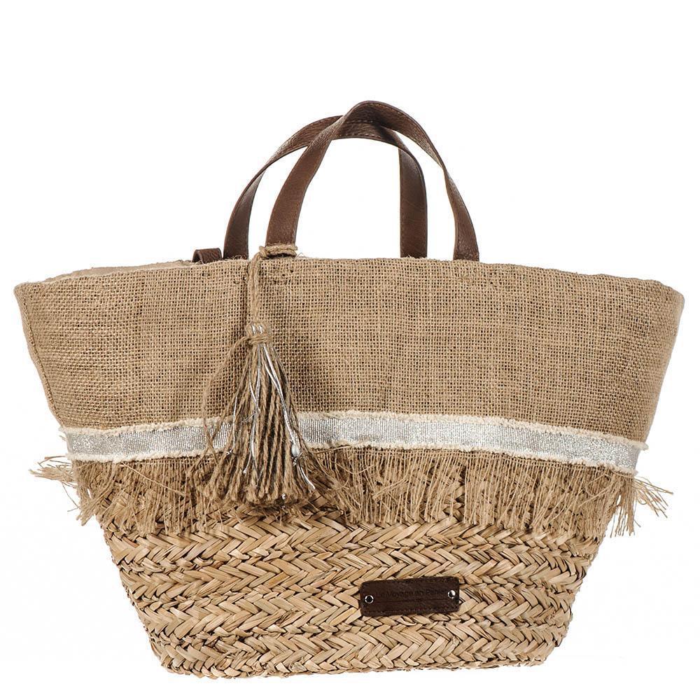 Kyrenia Black and Brown Raffia Beach Bag Aay1qVrzN
