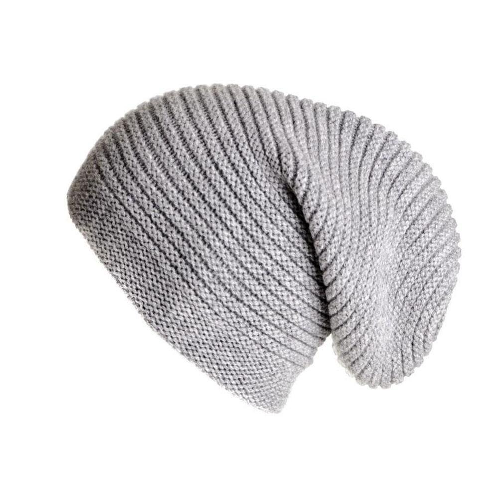 98929208569 Lyst - Black.co.uk Light Grey Cashmere Slouch Beanie Hat in Gray for ...
