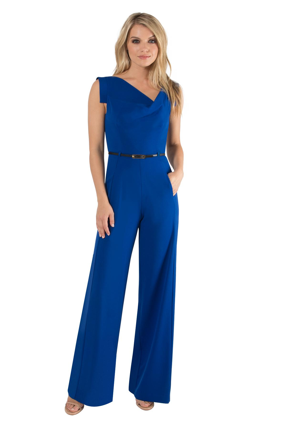 0ae9e68f06e Lyst - Black Halo Jackie Jumpsuit in Blue