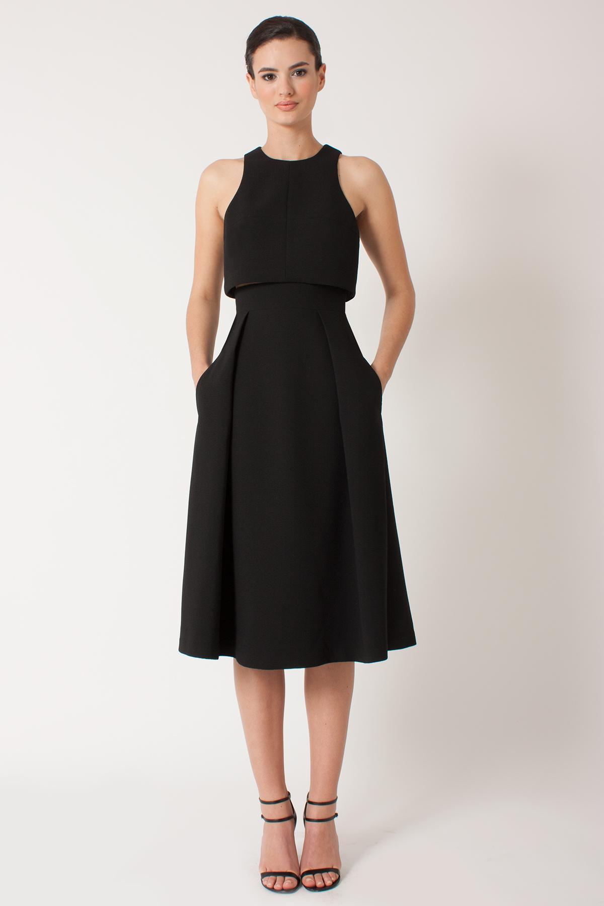Black halo jacket dress on sale