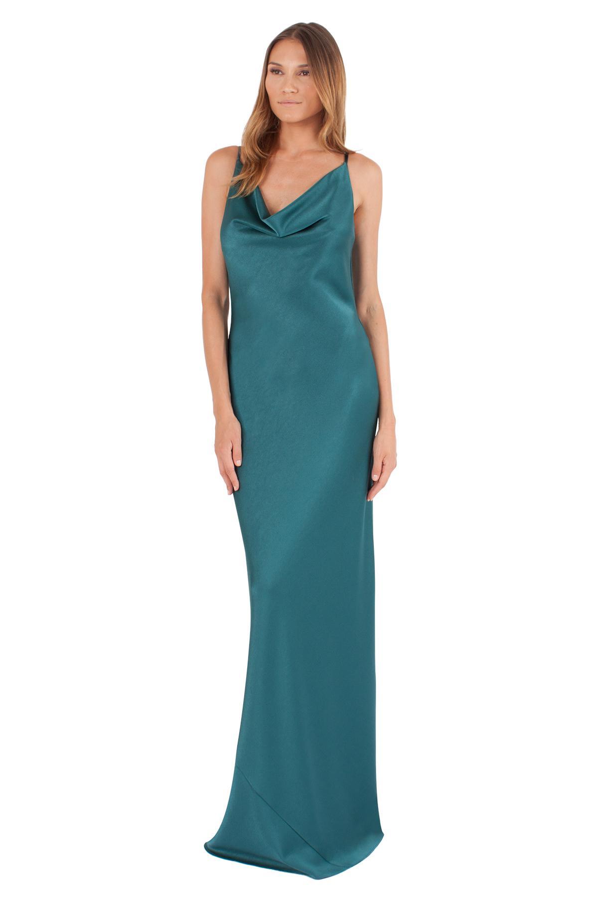 Lyst - Black Halo Bessette Gown in Blue