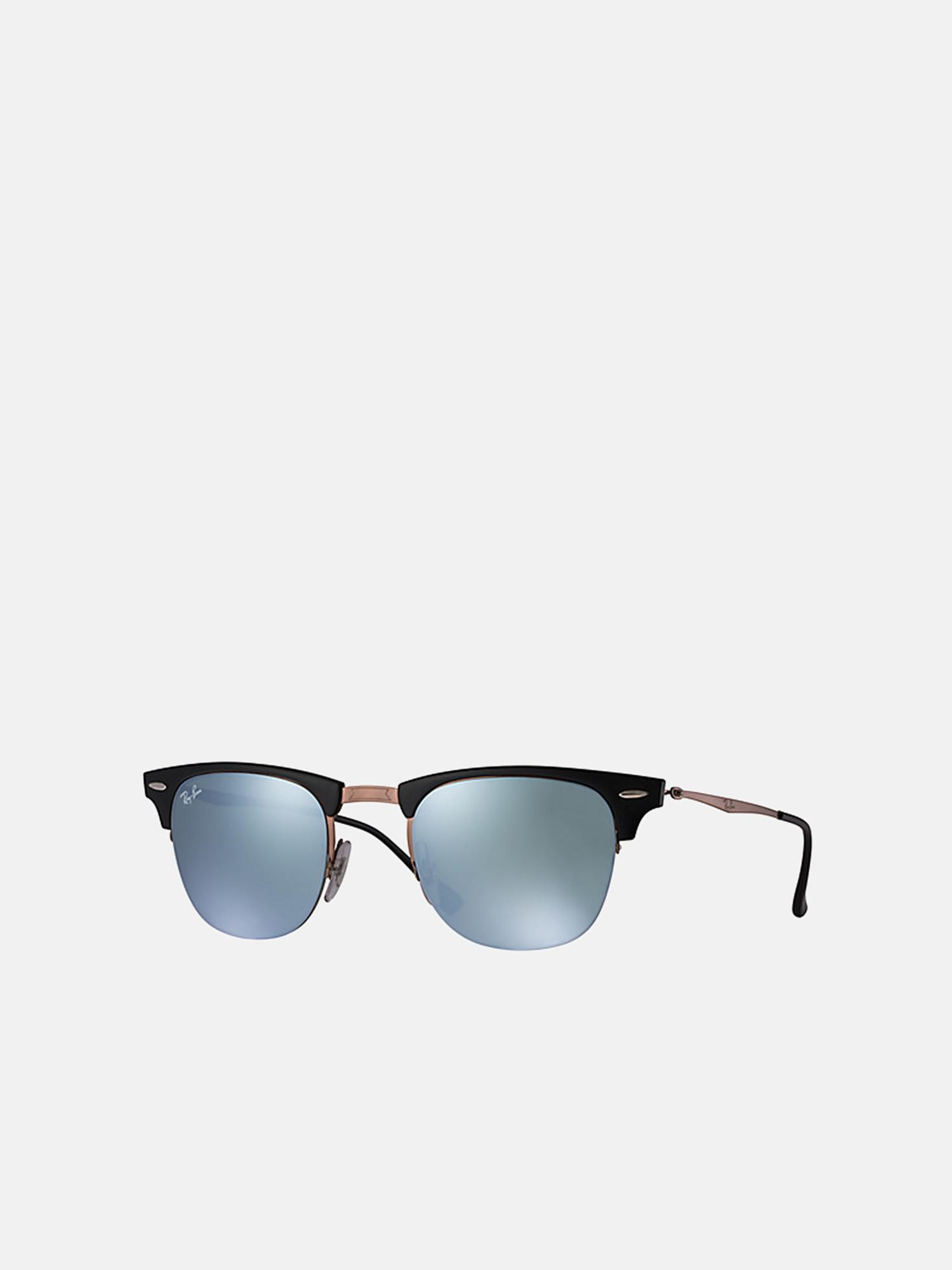 a959f505bd8 Lyst - Ray-Ban Clubmaster Light Ray rb8056 176 30 in Metallic for Men