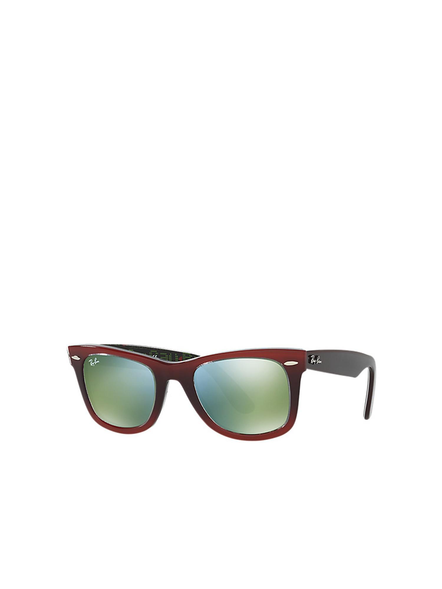 0588c232a0 Ray-Ban - Green Original Wayfarer rb2140 12022x 50 - Lyst. View fullscreen