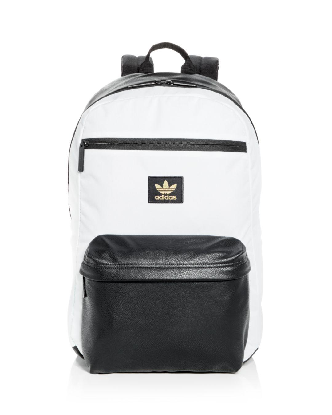Adidas - Black Originals National Plus Backpack for Men - Lyst. View  fullscreen 2f23384646bff