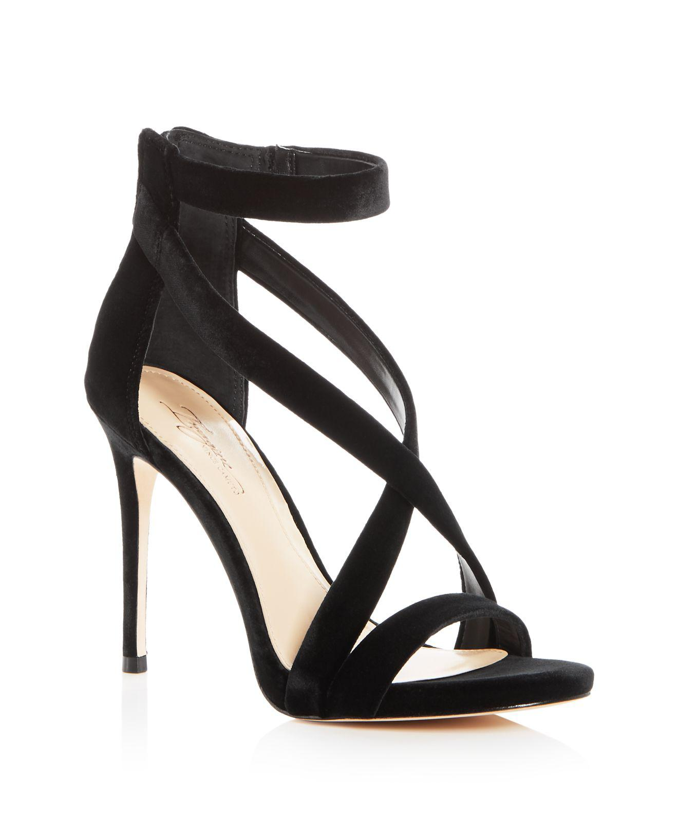 Vince Camuto Women's Paill Satin Crisscross High Heel Sandals bXhICxOpk