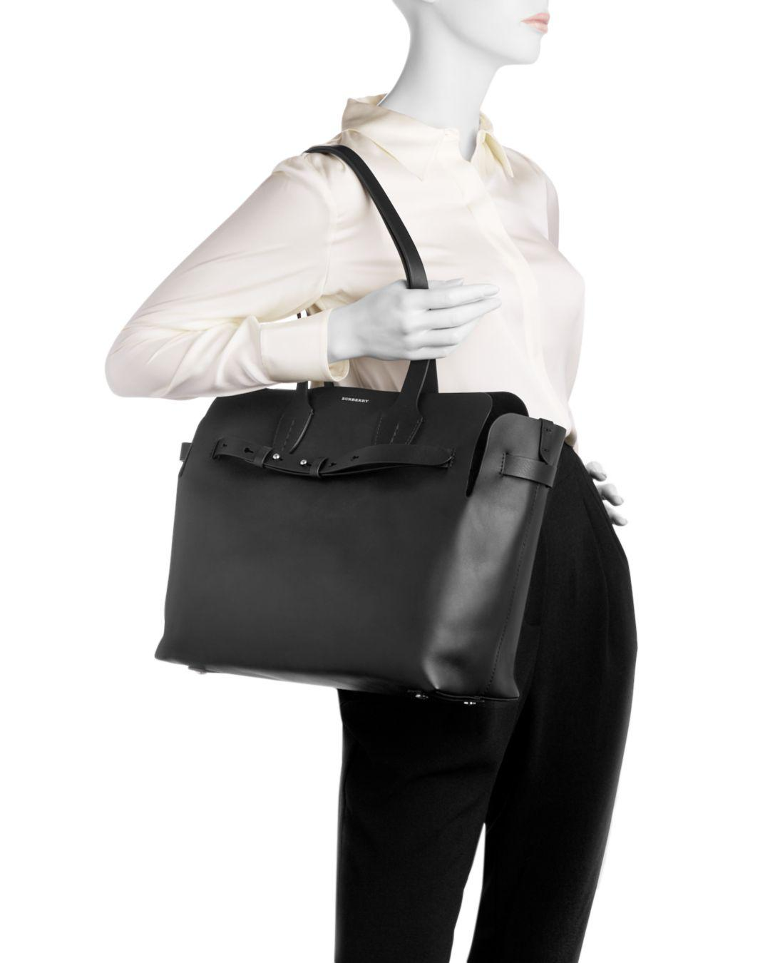 60c342fd9e7 Duffels & Totes Bags The Small Perforated Link Leather Belt Bag Color--Black