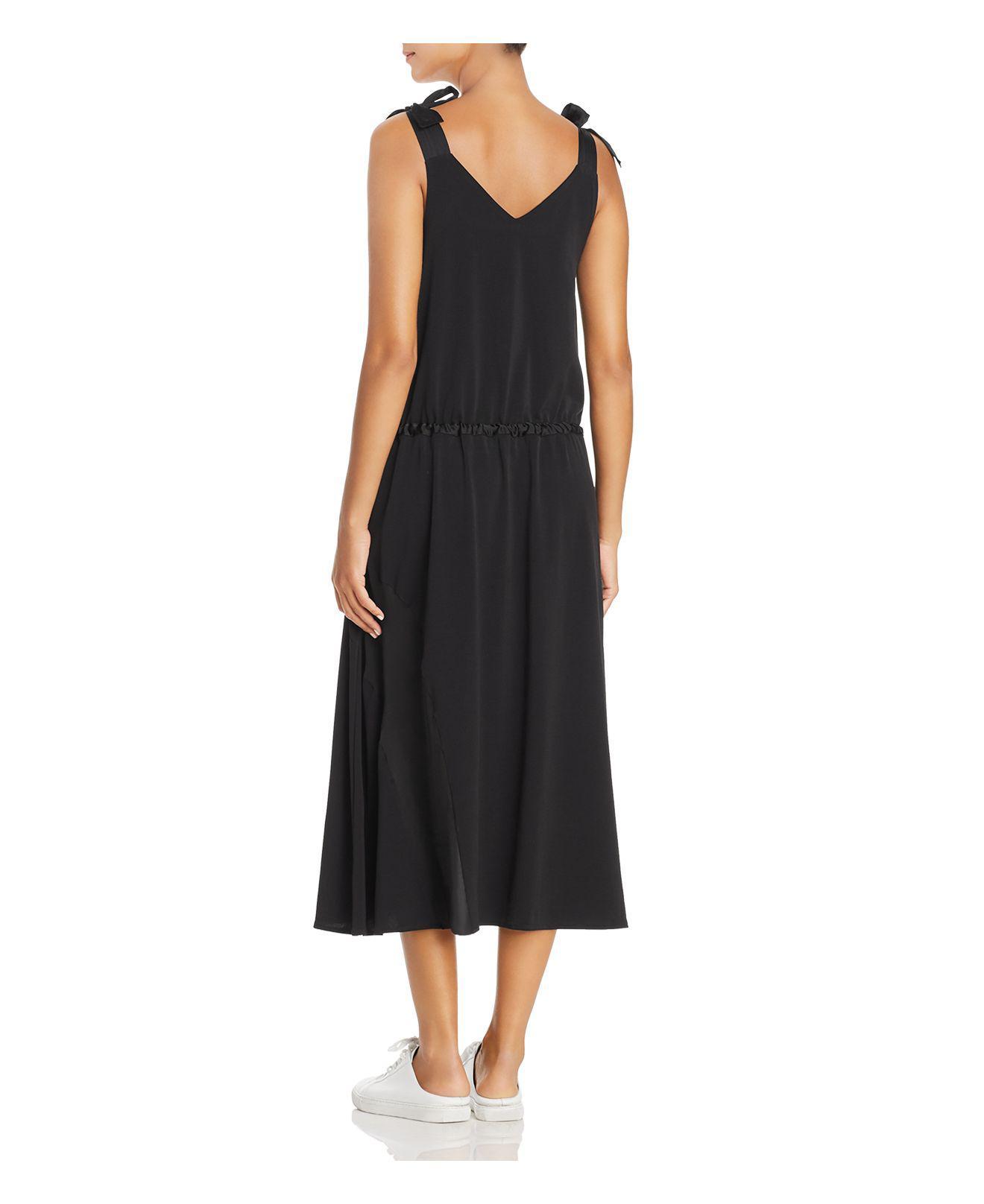 V-Neck Shoulder Tie Tank Dress Kenneth Cole tfOws