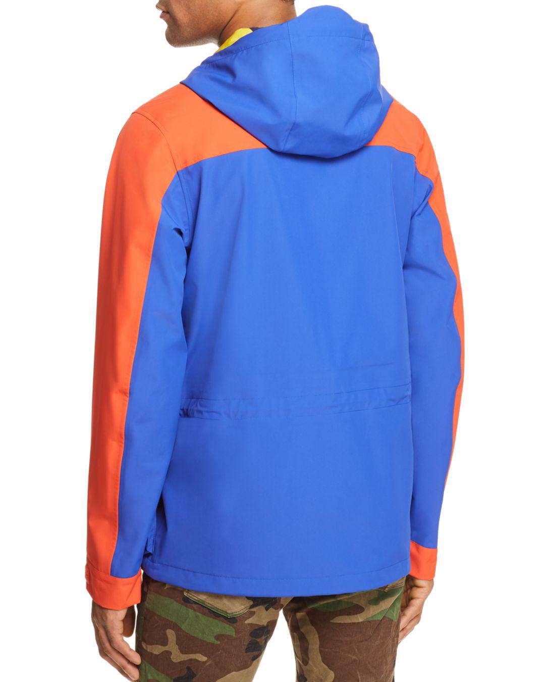 59d5d607b77f6 Lyst - Polo Ralph Lauren Polo Hi-tech Color-block Anorak Jacket in ...