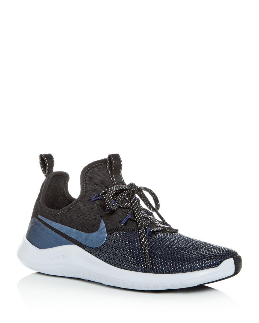 Lyst - Nike Women s Free Tr 8 Low-top Sneakers in Black - Save 25% bd7c98107