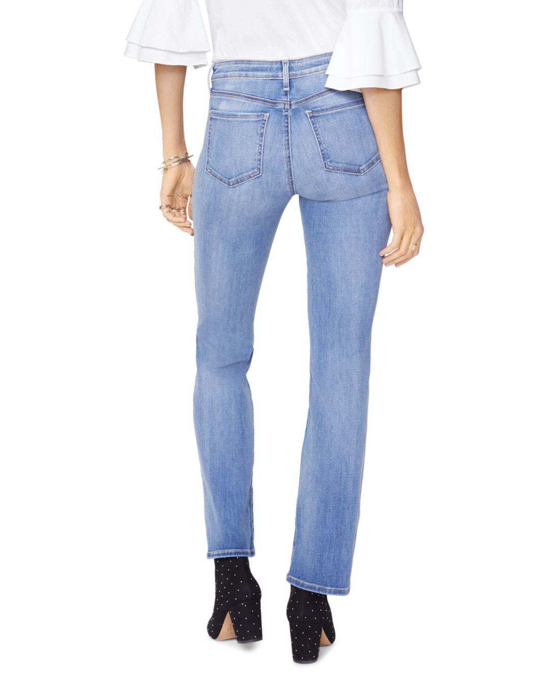 d146b51b0da Lyst - Nydj Petites Barbara Bootcut Jeans In Clean Cabrillo in Blue