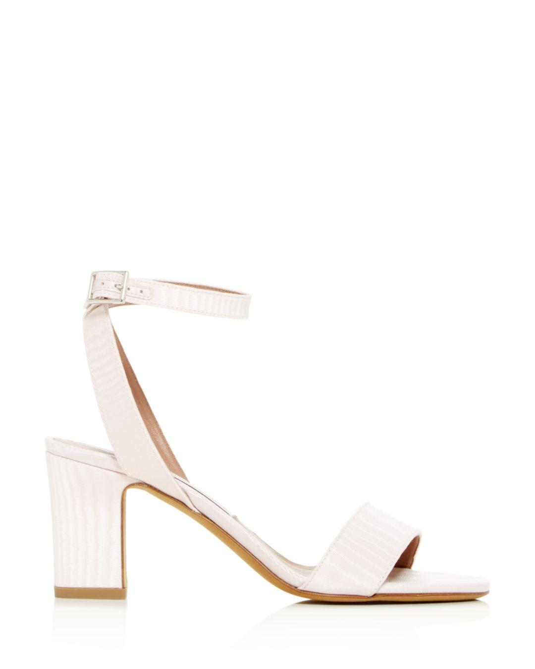 456fed20d159 Lyst - Tabitha Simmons Women s Leticia Ankle Strap Block-heel Sandals