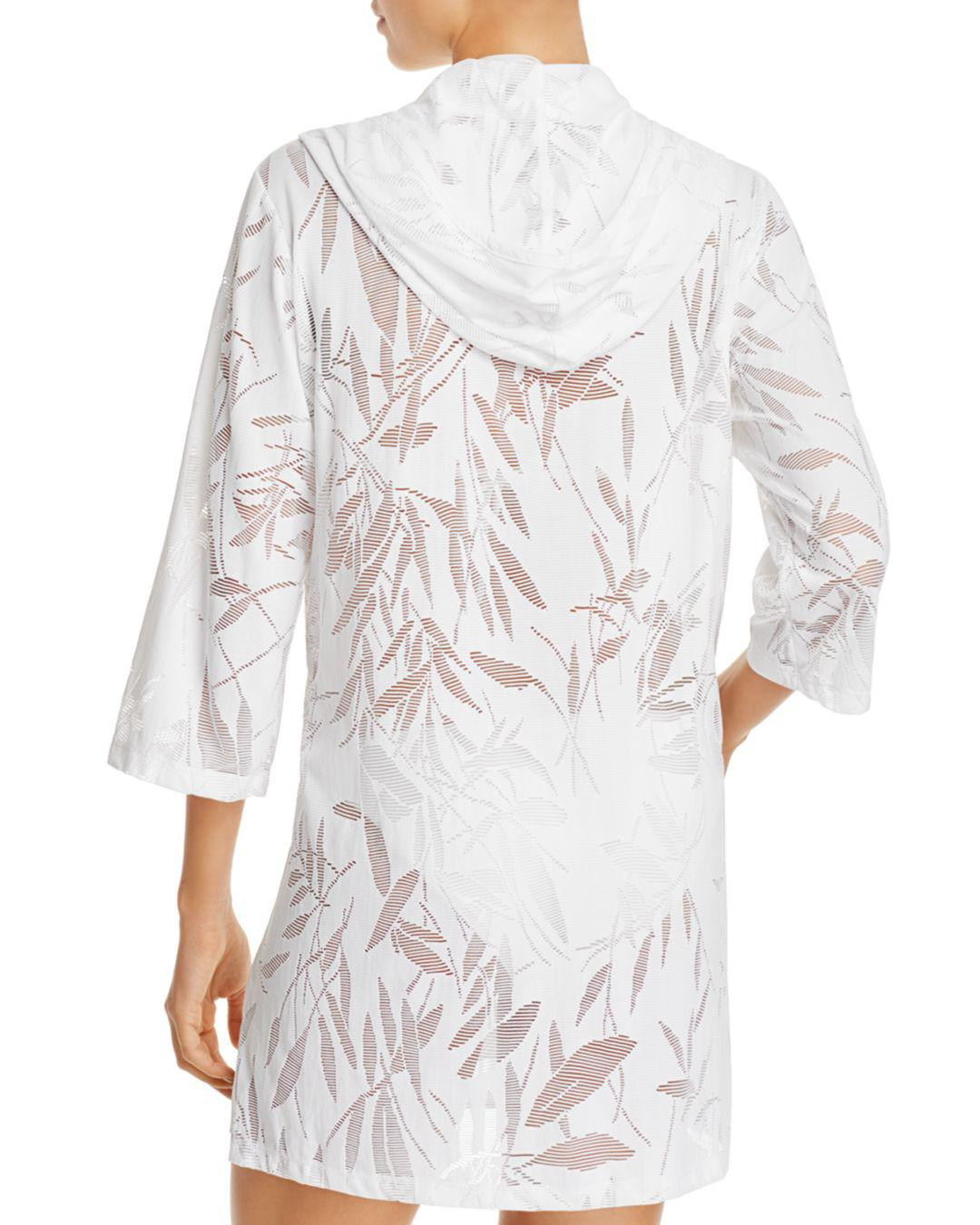 0e8d7f8b4b Lyst - J Valdi Bamboo Tunic Swim Cover-up in White