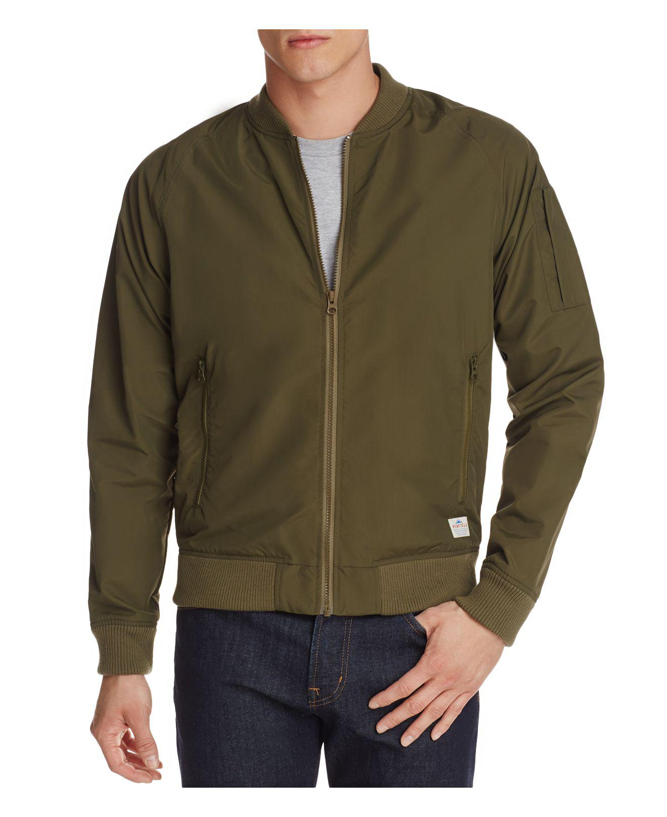 c94ad5fb3 Penfield Okenfield Bomber Jacket in Green for Men - Lyst
